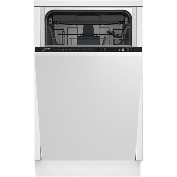 Masina de spalat vase incorporabila BEKO DIS26120, 11 seturi, 6 programe, 45 cm, Clasa E, negru
