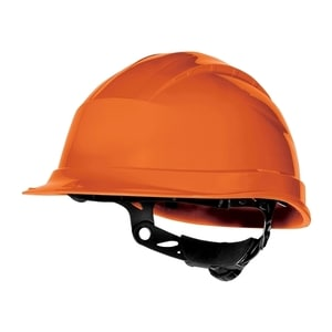 Casca de protectie DELTA PLUS Quartz Up III, polipropilena, portocaliu