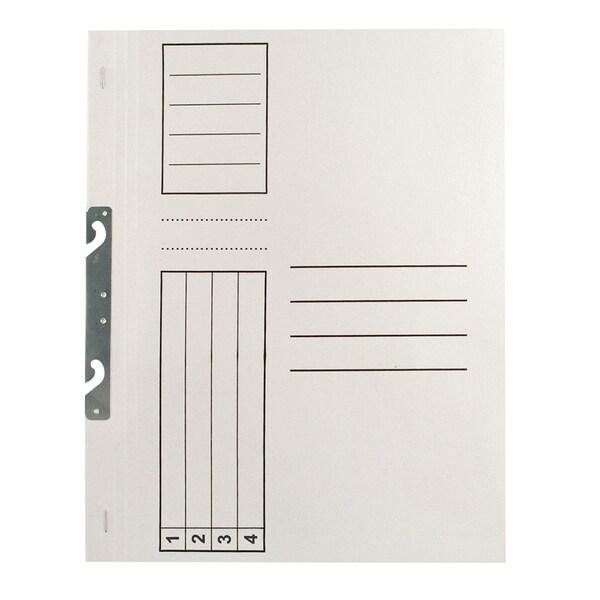Dosar de incopciat 1/1 RTC, A4, carton, 25 bucati, alb