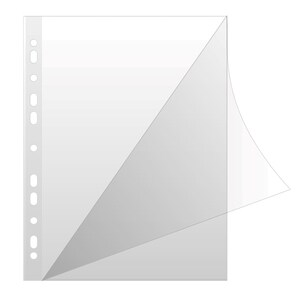 File de protectie documente DONAU, A4, 50 bucati