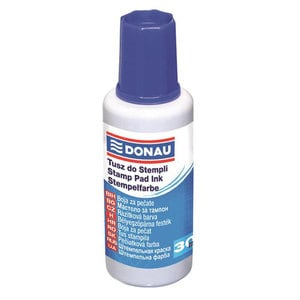 Tus stampila DONAU, 30 ml, albastru