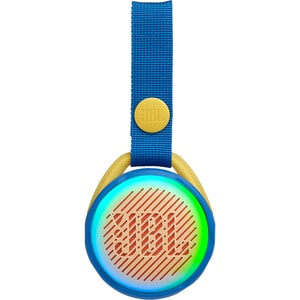 Boxa portabila JBL Jr Pop, Bluetooth, Lightshow, Waterproof, albastru