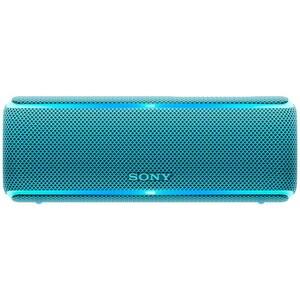 Boxa portabila SONY SRS-XB21L, Bluetooth, NFC, Wireless, EXTRA BASS, Party Booster, Waterproof, albastru