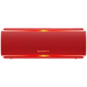 Boxa portabila SONY SRS-XB21R, Bluetooth, NFC, Wireless, EXTRA BASS, Party Booster, Waterproof, rosu