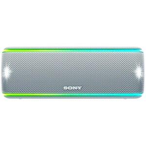 Boxa portabila SONY SRS-XB31W, Bluetooth, NFC, Wireless, EXTRA BASS, Party Booster, Waterproof, alb