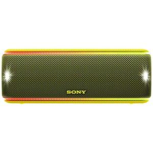 Boxa portabila SONY SRS-XB31Y, Bluetooth, NFC, Wireless, EXTRA BASS, Party Booster, Waterproof, galben