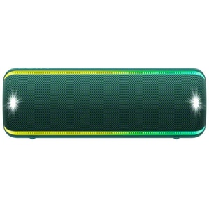 Boxa portabila SONY SRS-XB32, EXTRA BASS, Bluetooth, NFC, Wireless, Party Booster, Wireless Party Chain, LIVE SOUND, Waterproof, Verde