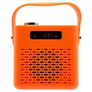 Boxa portabila TELLUR Blues, Bluetooth, USB, MicrosSD, Radio FM, portocaliu