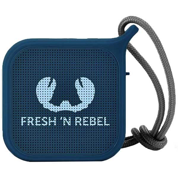 Boxa portabila FRESH 'N REBEL Rockbox Pebble, Bluetooth, Waterproof, Indigo