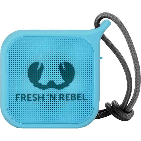 Boxa portabila FRESH 'N REBEL Rockbox Pebble, Bluetooth, Waterproof, Sky