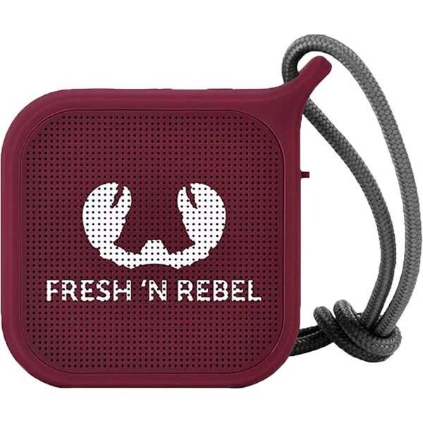 Boxa portabila FRESH 'N REBEL Rockbox Pebble, Bluetooth, Waterproof, Ruby red