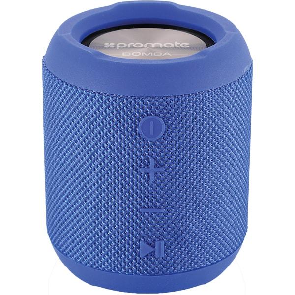 Boxa portabila PROMATE Bomba, Bluetooth, MicroSD, Waterproof, True Wireless, albastru