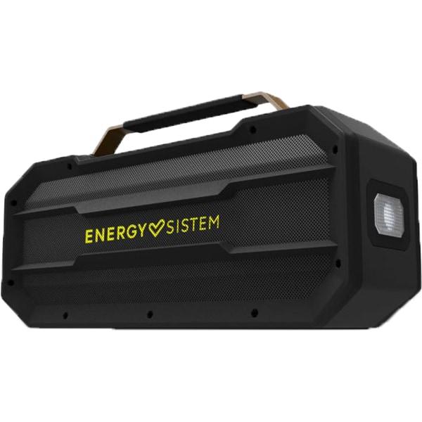 Boxa portabila ENERGY SISTEM Outdoor Box Street, ENS443765, Bluetooth, USB, MicroSD, Radio FM, Waterproof, Powerbank, negru