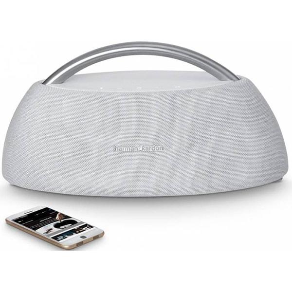 Boxa portabila HARMAN KARDON Go + Play, 4x25W, Bluetooth, alb