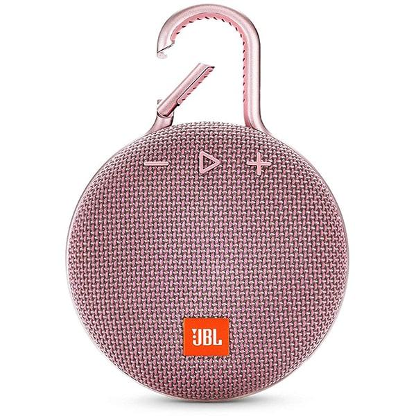 Boxa portabila JBL Clip 3, Bluetooth, Waterproof, roz
