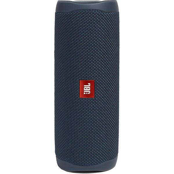 Boxa portabila JBL Flip 5, Bluetooth, PartyBoost, Waterproof, albastru