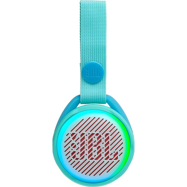 Boxa portabila JBL Jr Pop, Bluetooth, Lightshow, Waterproof, verde fosforescent