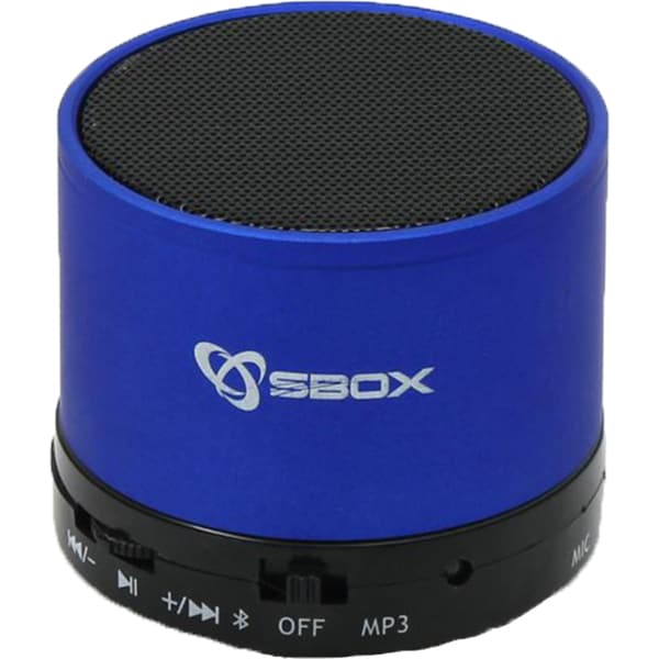 Boxa portabila SBOX BT-160, Bluetooth, MicroSD, Radio FM, albastru