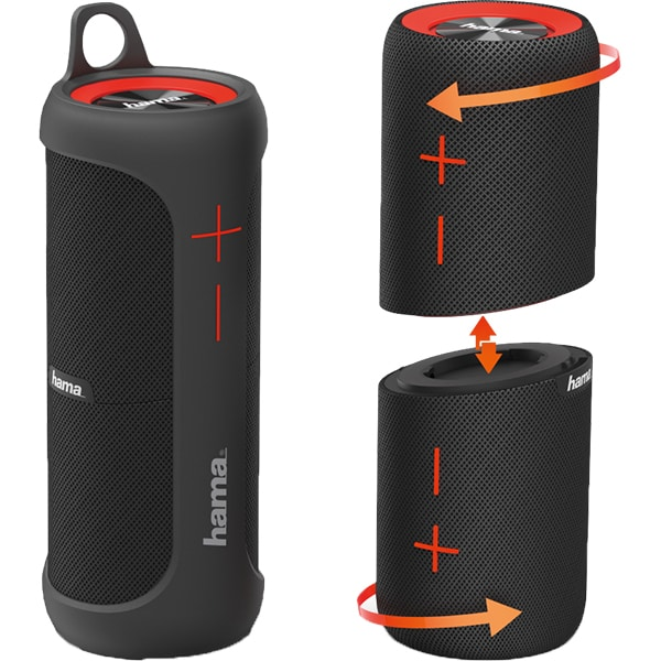 Boxa portabila HAMA Soundcup D 173186, Bluetooth, negru