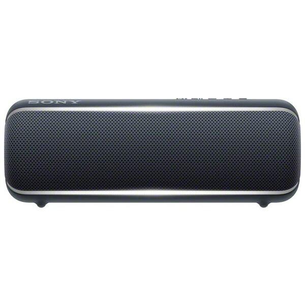 Boxa portabila SONY SRS-XB22, EXTRA BASS, Bluetooth, NFC, Wireless, Party Booster, Wireless Party Chain, LIVE SOUND, Waterproof, Negru