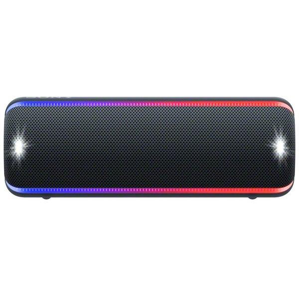 Boxa portabila SONY SRS-XB32, EXTRA BASS, Bluetooth, NFC, Wireless, Party Booster, Wireless Party Chain, LIVE SOUND, Waterproof, Negru
