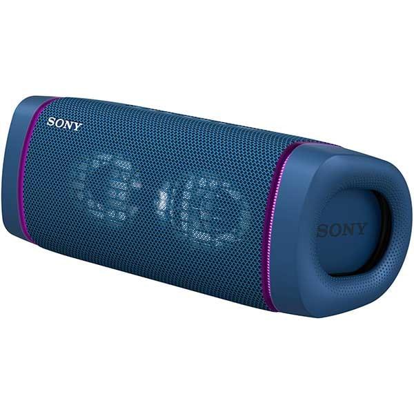 Boxa portabila SONY SRS-XB33, EXTRA BASS, Bluetooth, Wireless, Party Connect, Waterproof, Powerbank, albastru