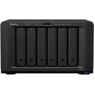 Network Attached Storage SYNOLOGY DiskStation DS1621+, 2.2 GHz, 4GB, 6-Bays, negru