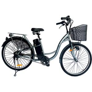 Bicicleta de oras Electrica EVOLIO X-BIKE City, 26 inch, gri inchis