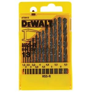 Set 13 burghie pentru metal DEWALT DT5912, 1.5 - 6.5mm