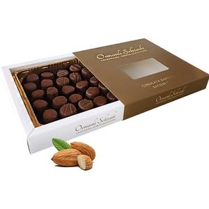 Bomboane ciocolata umplute cu paste de migdale SEHZADE, 350g
