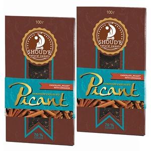 Ciocolata cu scortisoara SHOUDE Picant, 100g, 2 bucati