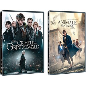 Pachet Animale Fantastice 1 + 2 DVD