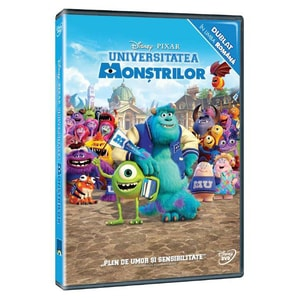 Universitatea monstrilor DVD