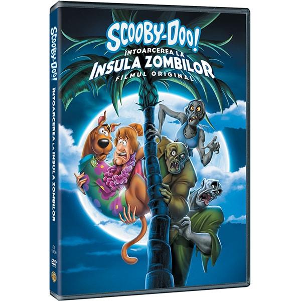 Scooby-Doo: Intoarcerea la insula zombilor DVD