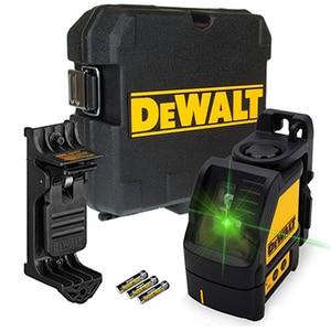 Nivela cu laser in cruce DEWALT DW088CG, raza 20m