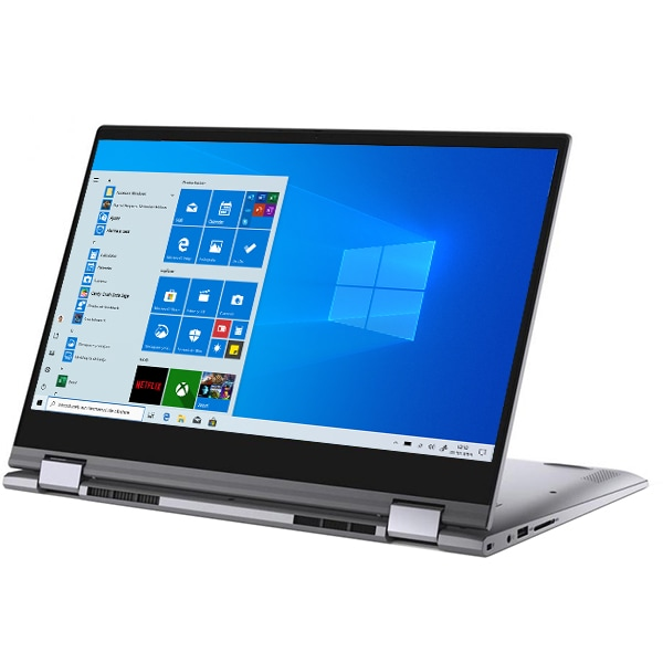"Laptop 2 in 1 DELL Inspiron 5400, Intel Core i7-1065G7 pana la 3.9GHz, 14"" Full HD Touch, 16GB, SSD 512GB, NVIDIA GeForce MX330 2GB, Windows 10 Home, gri"