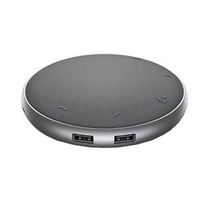 Docking station cu boxa si microfon DELL MH3021P, USB-C, 90W, gri