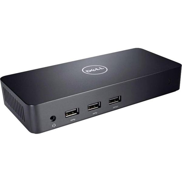 Docking station DELL D3100, USB 3.0, negru