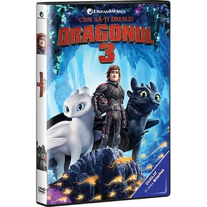 How to train your dragon 3 DVD