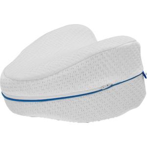 Perna ergonomica pentru genunchi si picioare MEDIASHOP Dreamolino Leg Pillow, alb