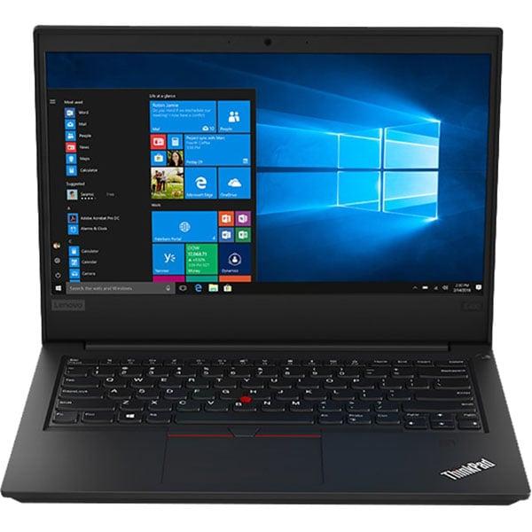 """Laptop LENOVO ThinkPad E490, Intel Core i5-8265U pana la 3.9GHz, 14"""" Full HD, 8GB, HDD 1TB + SSD 256GB, Intel UHD Graphics 620, Windows 10 Pro, Negru"""