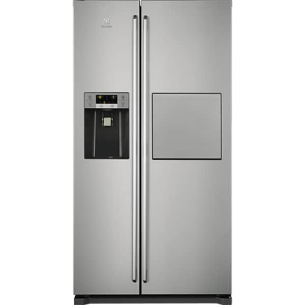 Side by Side ELECTROLUX EAL6142BOX, No Frost, 527 l, H 178 cm, Clasa G, inox