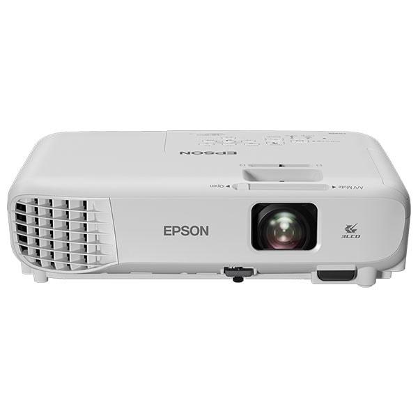 Videoproiector EPSON EB‑W06, WXGA, 3700 lumeni, alb