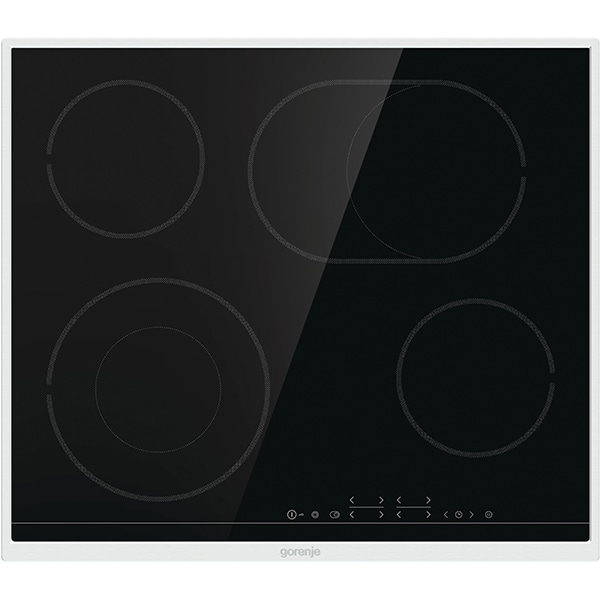 Plita incorporabila GORENJE ECT643BX, Vitroceramica, 4 arzatoare, negru