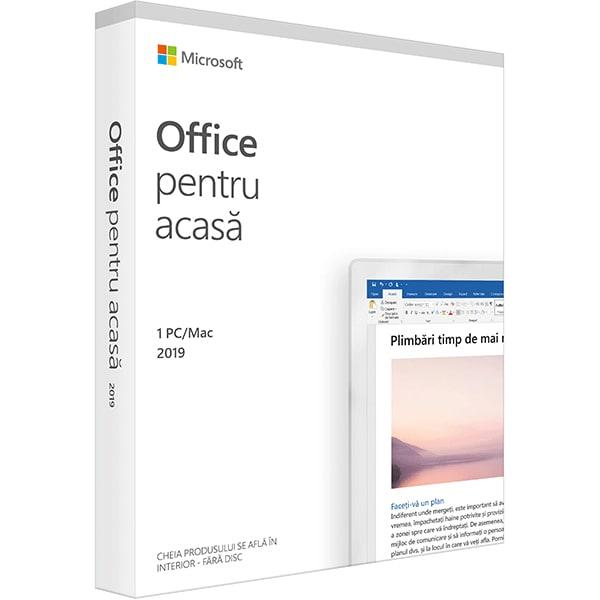 Microsoft Office Home and Student 2019, Engleza, 1 PC/Mac