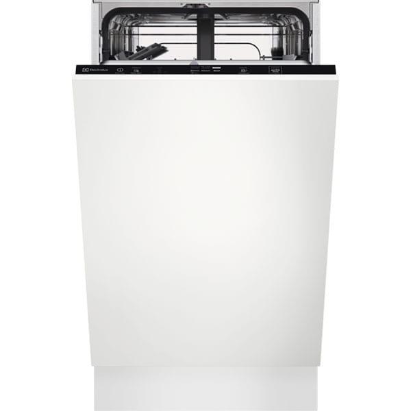 Masina de spalat vase incorporabila ELECTROLUX EEA22100L, 9 seturi, 6 programe, 45 cm, Clasa A+, alb