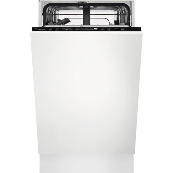 Masina de spalat vase incorporabila ELECTROLUX EES42210L, 9 seturi, 8 programe, Clasa E, negru
