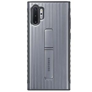 Carcasa Protective Stand pentru SAMSUNG Galaxy Note 10 Plus, EF-RN975CSEGWW, silver