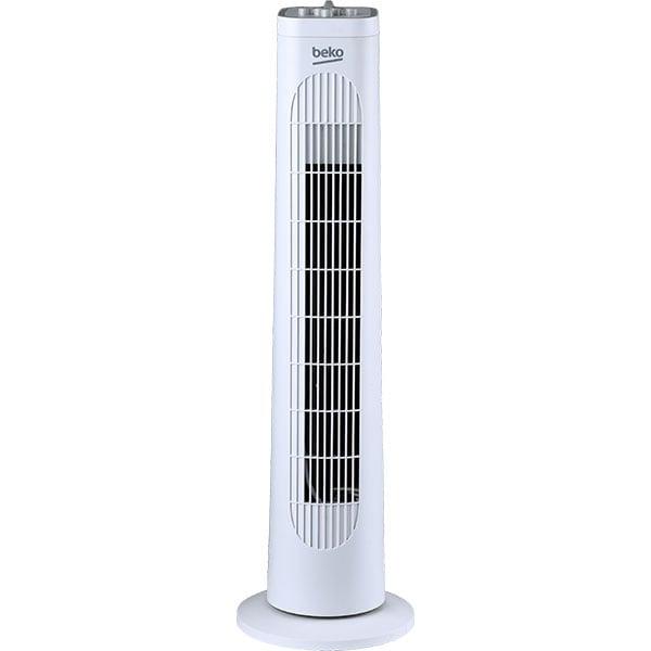 Ventilator turn BEKO EFW5100W, 3 trepte de viteza, 35 W, alb