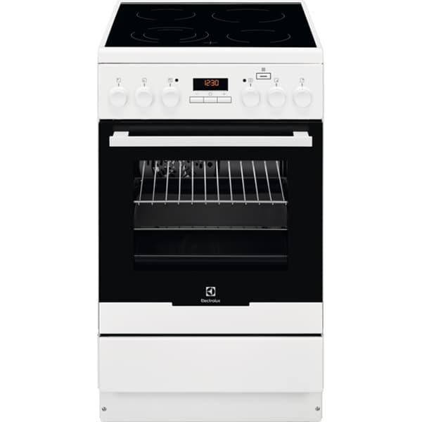 Aragaz ELECTROLUX EKC54950OW, 4 arzatoare, electric, alb